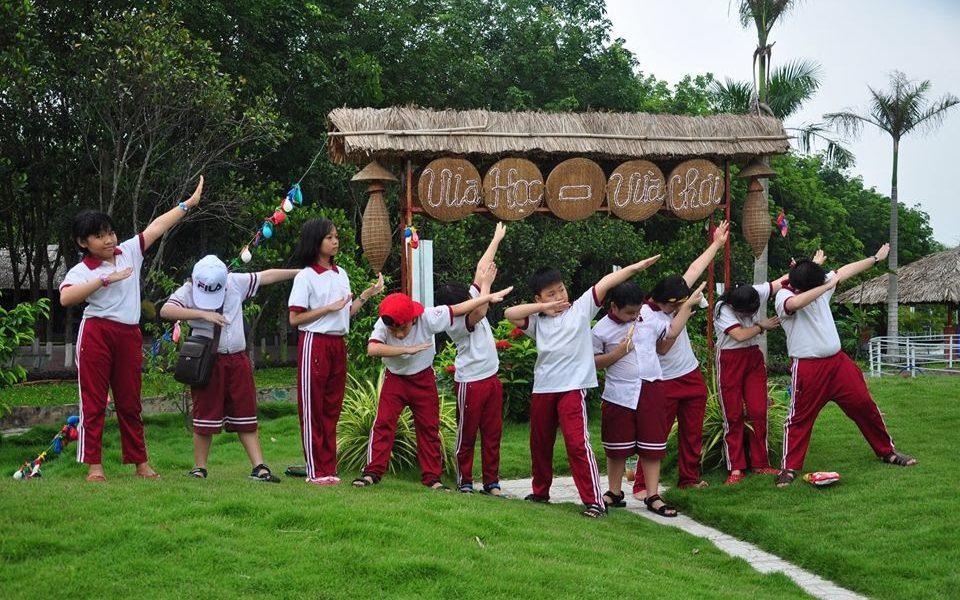 Trải nghiệm thú vị tại khu sinh thái giáo dục Về Quê Củ Chi