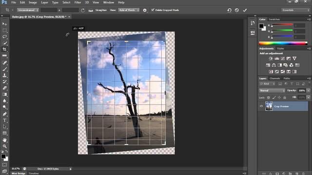 Để giúp bạn định vị các phần tử và đo chính xác từ điểm này đến điểm khác, Photoshop mang đến các công cụ hữu ích là document rulers và a ruler too